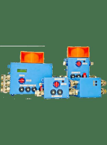Искробезопасная система громкоговорящей связи, сигнализации и блокировки UGS-01/2