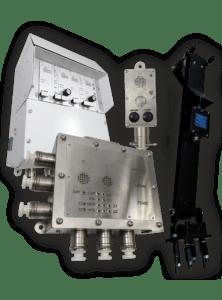Комплекс индуктивной голосовой связи по канату и контроля датчика напуска ECHO-XX