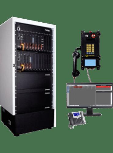 Комплекс шахтной телефонной связи искробезопасной на базе EMNET