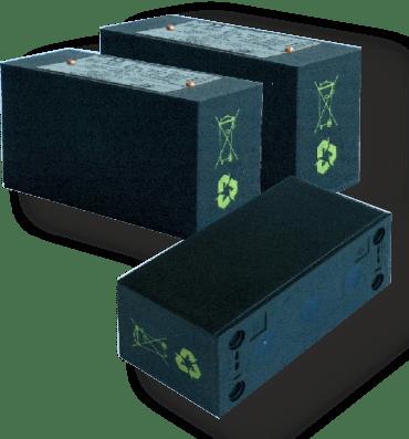 Искробезопасный аккумуляторный блок питания 9ZZI-xx/03/xx